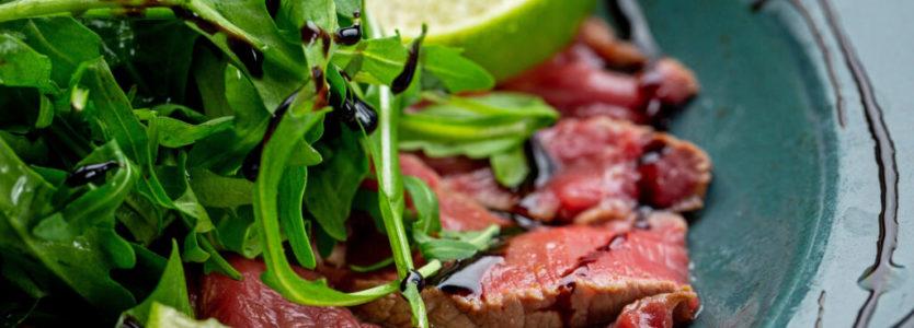 svaiga liellopa gaļa karpačo Carpaccio